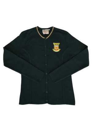 Manurewa High School Cardigan with Stripes